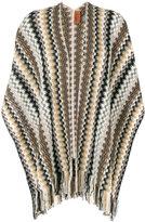 M Missoni cape scarf
