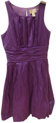 Tracy Reese \N Purple Cotton Dress for Women