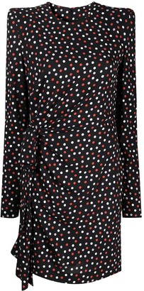 Philosophy di Lorenzo Serafini Polka Dot-Print Mini Dress