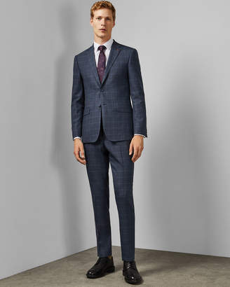 Ted Baker COMFTO Endurance checked two-piece suit