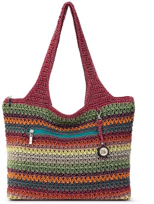The Sak Casual Classics Large Crocheted Tote Bag