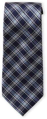 Tommy Hilfiger Navy Stripe Plaid Tie