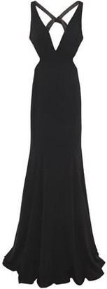 Jay Godfrey Douglas Open-back Stretch-crepe Gown
