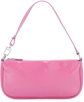 BY FAR Rachel Patent Leather Shoulder Bag