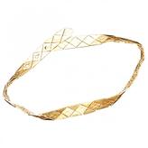 Saint Laurent Gold Metal Belt
