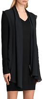 AllSaints Drina Panel Dress, Black