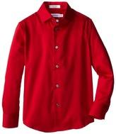 Calvin Klein Kids Sateen Shirt (Big Kids)
