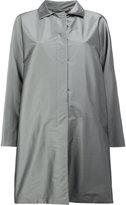 Herno concealed fastening midi coat - women - Polyamide/Polyester/Spandex/Elastane - 38