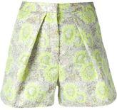 MSGM floral shorts