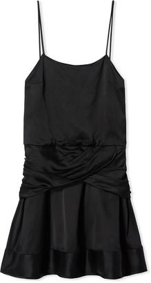 Derek Lam 10 Crosby Cami Flounce Mini Dress