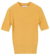 Short Sleeve Knit Yellow