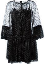 Gianluca Capannolo ruffle lace dress