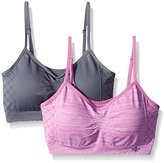 Lily of France Women's Dynamic Duo 2 Pack Seamless Bralette 2171941