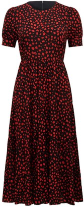 Ever New Betty Printed Midi Dress