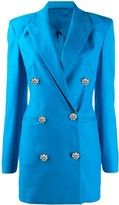 ATTICO The double-breasted blazer dress