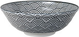 Design Studio Tokyo Nippon Black Serving Bowl - Wave