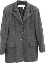 Escada Grey Cashmere Jacket for Women Vintage