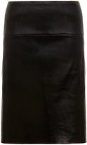 Muu Baa Muubaa Salvador Black Stretch Leather Skirt