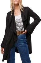 Free People Women's Meadow Drape Collar Faux Suede Jacket