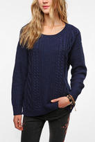 Urban Outfitters Coincidence & Chance Flecked Elbow Patch Sweater