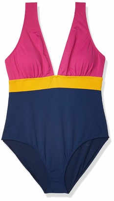 Catalina Women's Colorblock One Piece Large