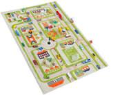 59'' Green Traffic 3-D Play Mat