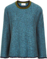 3.1 Phillip Lim Ocean Blue Crew Neck Sweater