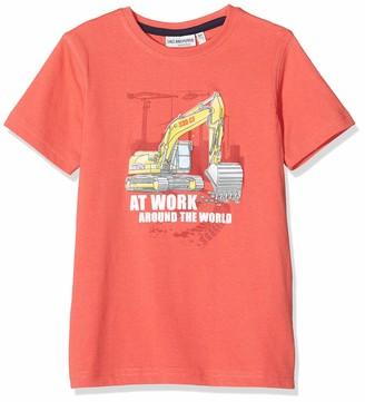 Salt&Pepper Salt & Pepper Boy's Druck Mit Bagger Schaumdruck T-Shirt