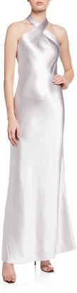 Galvan Metallic Eve Dress