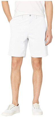 Lacoste Stretch Regular Fit Bermudas (White) Men's Shorts