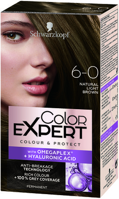 Schwarzkopf Colour Expert Permanent Hair Colour 6.0 Natural Light Brown