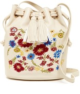 Steve Madden BNeville Embroidered Bucket Bag