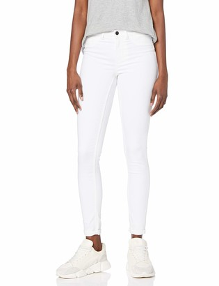 Pieces Women's PCSAGE Shape UP Ultra Skinny MW BRWH-VI Jeans