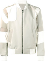 Wooyoungmi bomber jacket - men - Wool/Cotton/Lamb Fur/Viscose - 46