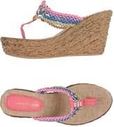Laura Biagiotti Toe strap sandals - Item 11202109