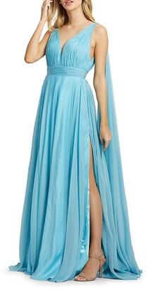 Mac Duggal Grecian Chiffon Gown