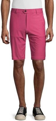 Greyson Dragonfly-Print Golf Shorts