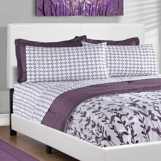 Ebern Designs Engelhard Queen Upholstered Bed Color: White