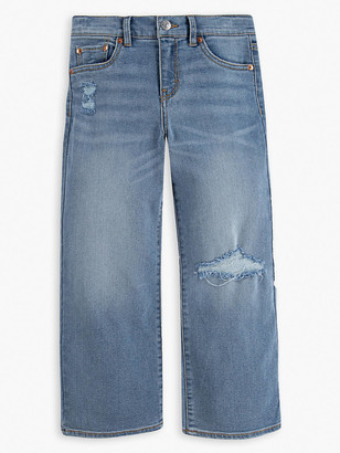 Levi's Cropped Wide Leg Big Girls Jeans 7-16
