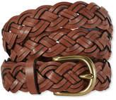 L.L. Bean L.L.Bean Braided Leather Belt