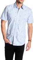 Robert Graham White Sea Classic Fit Short Sleeve Shirt