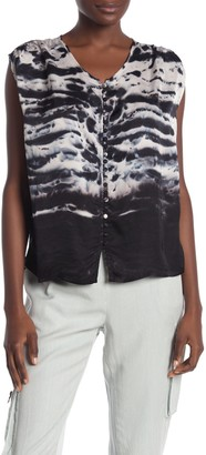 Young Fabulous & Broke Noreen Front Button Top