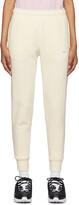 Thumbnail for your product : Nike Yellow Fleece Sportswear Club Lounge Pants