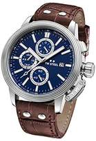 TW Steel 'CEO Adesso' Quartz Stainless Steel Casual Watch, Color:Brown (Model: CE7010)