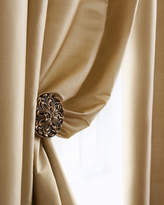 "Amity Home Radiance Silk Curtain, 108""L"