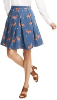 Draper James Oh Deer Skirt