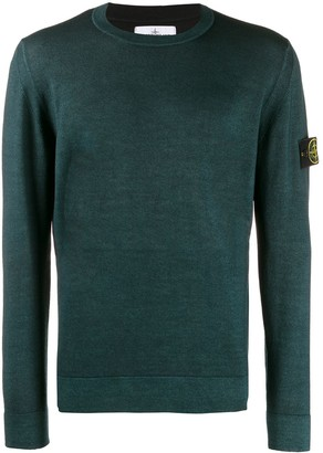 Stone Island sweatshirt with logo patch