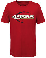 Nike Nfl Legend San Fransisco 49ers T-Shirt, Little Boys(4-7)