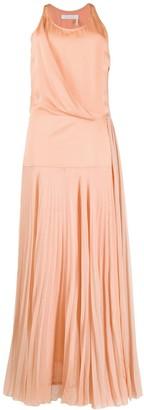 Chloé Draped Evening Dress