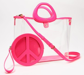 Katy Perry Large Grab Tote and Pouch - Waves